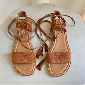 COCONUTS by Matisse Leather Gladiators Italian